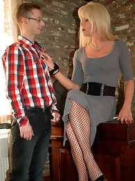 Shemale Cougar - Office Bitch