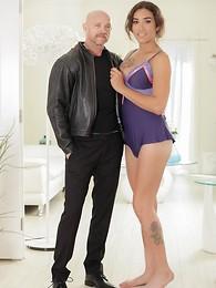 Tori Mayes and Buck Angel