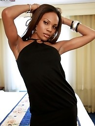 This ebony tranny Anjel is an angel in every sense of the word! Her body is heavenly!