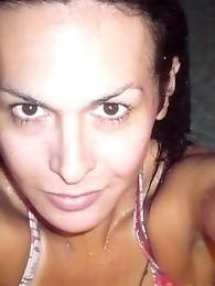 Adorable Tranny Nikki At The Pool