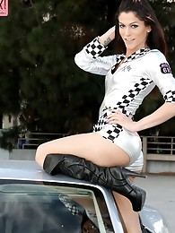 Hardcore race queen Domino presley