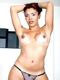Cute sensual Belen Ponce posing her perfect body